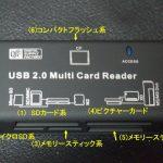 【55種類のカードに対応】55in1マルチカードリーダー pc-scrw6-k レビュー