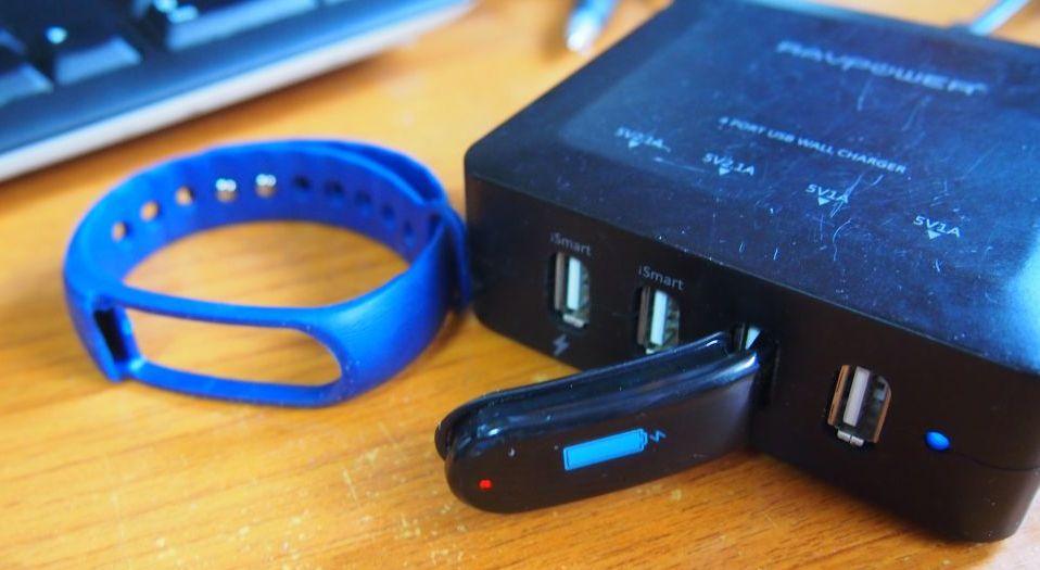 LETSCOM 活動量計 心拍計 ID101HR の充電