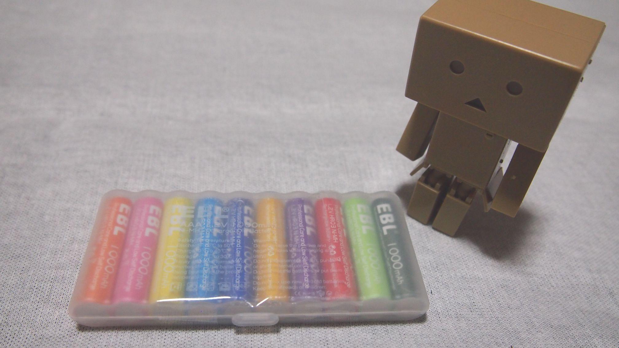 低価格で高品質な単4充電池なら eblの充電池が良さげです バリューな