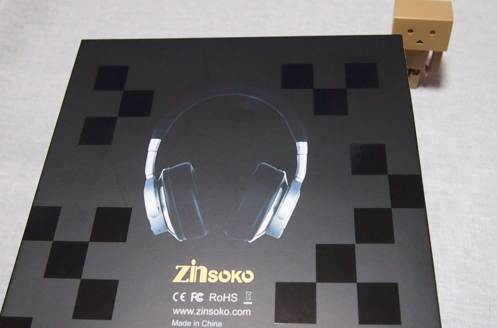Zinsoko Z-H01 bluetoothヘッドホン