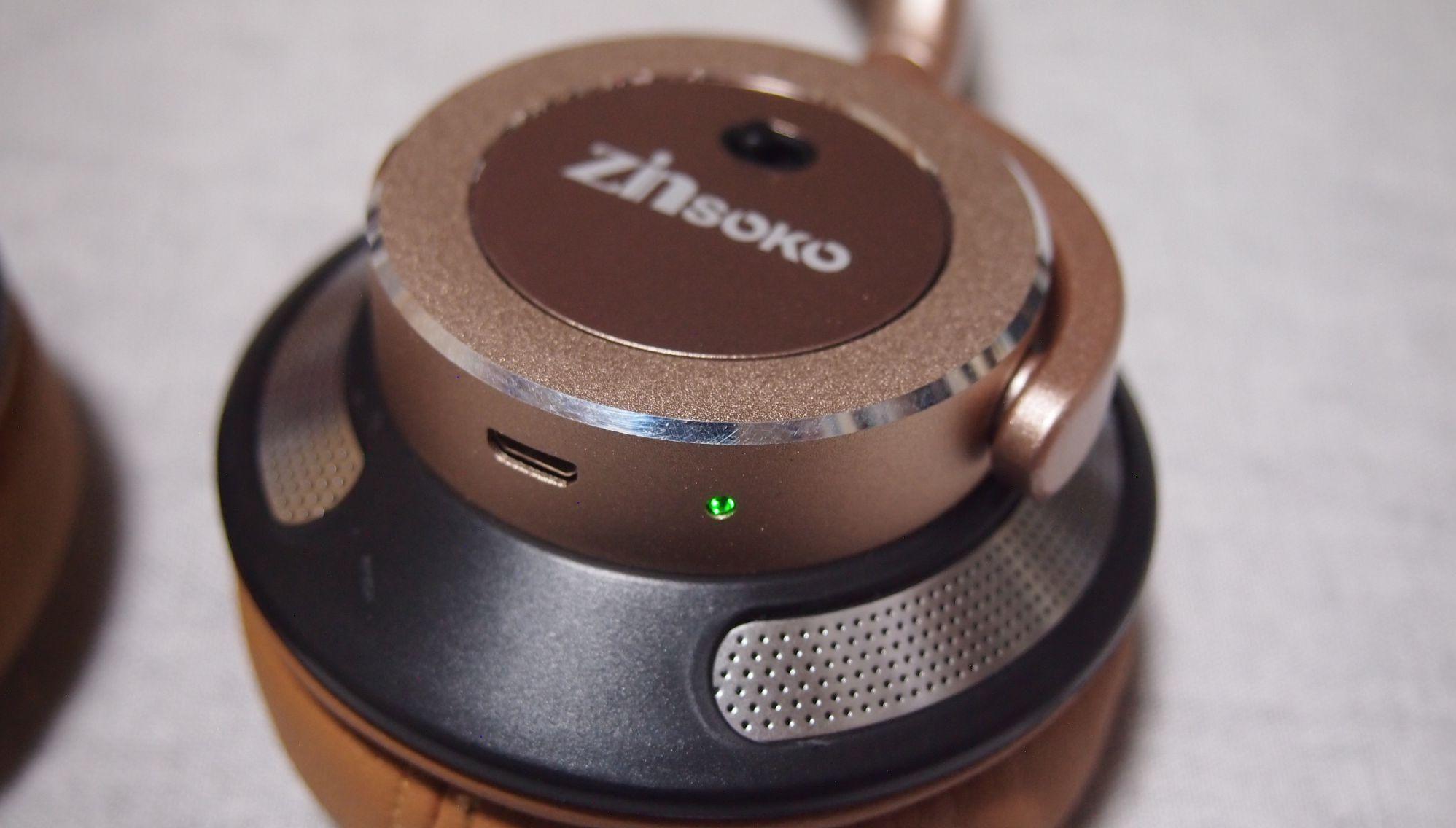 Zinsoko Z-H01 bluetoothヘッドホン ノイズキャンセリング