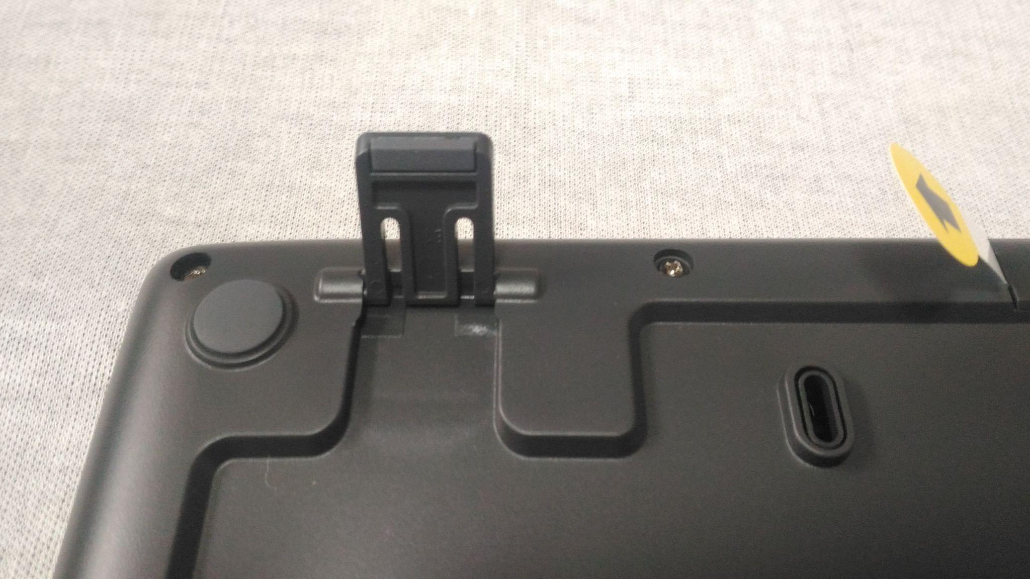 K275ワイヤレスキーボードの足