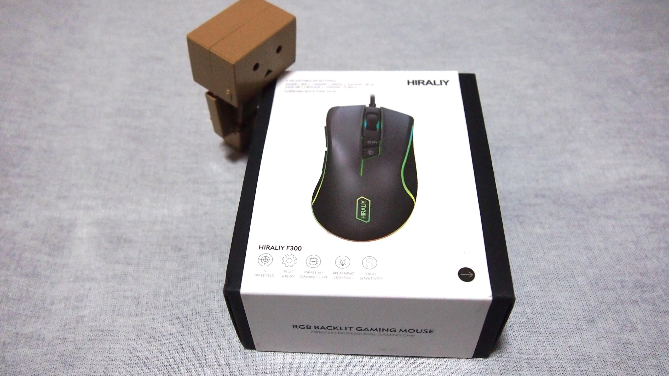 HIRALIY  gaming mouse F300