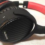 【apt-x・ANC対応】Bluetoothヘッドホン AUSDOM ANC7をレビュー