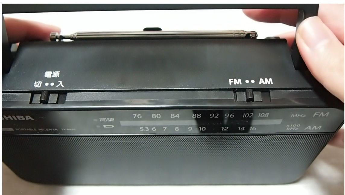 東芝ラジオTY-AR55