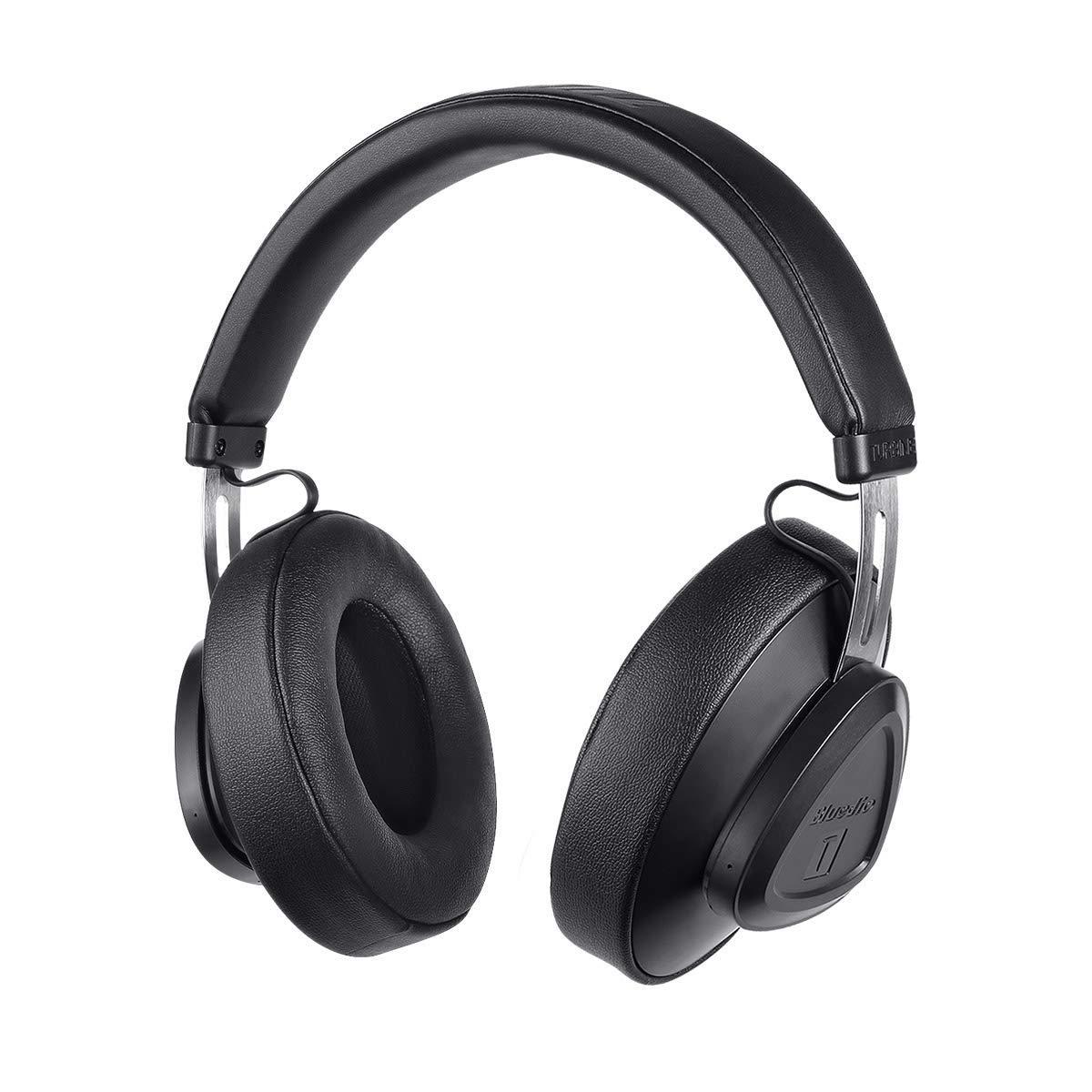 Bluedio A Air Series Bluetooth ヘッドホン ワイヤレスヘッドセット イヤホン(黒)