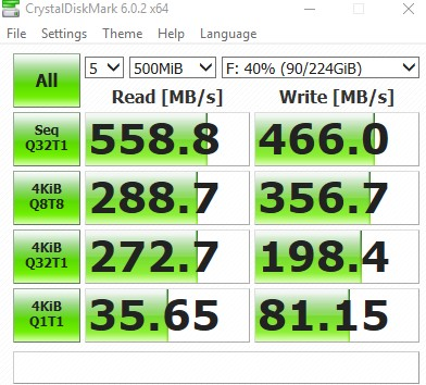 "Patriotバースト2.5"" 240 GB"