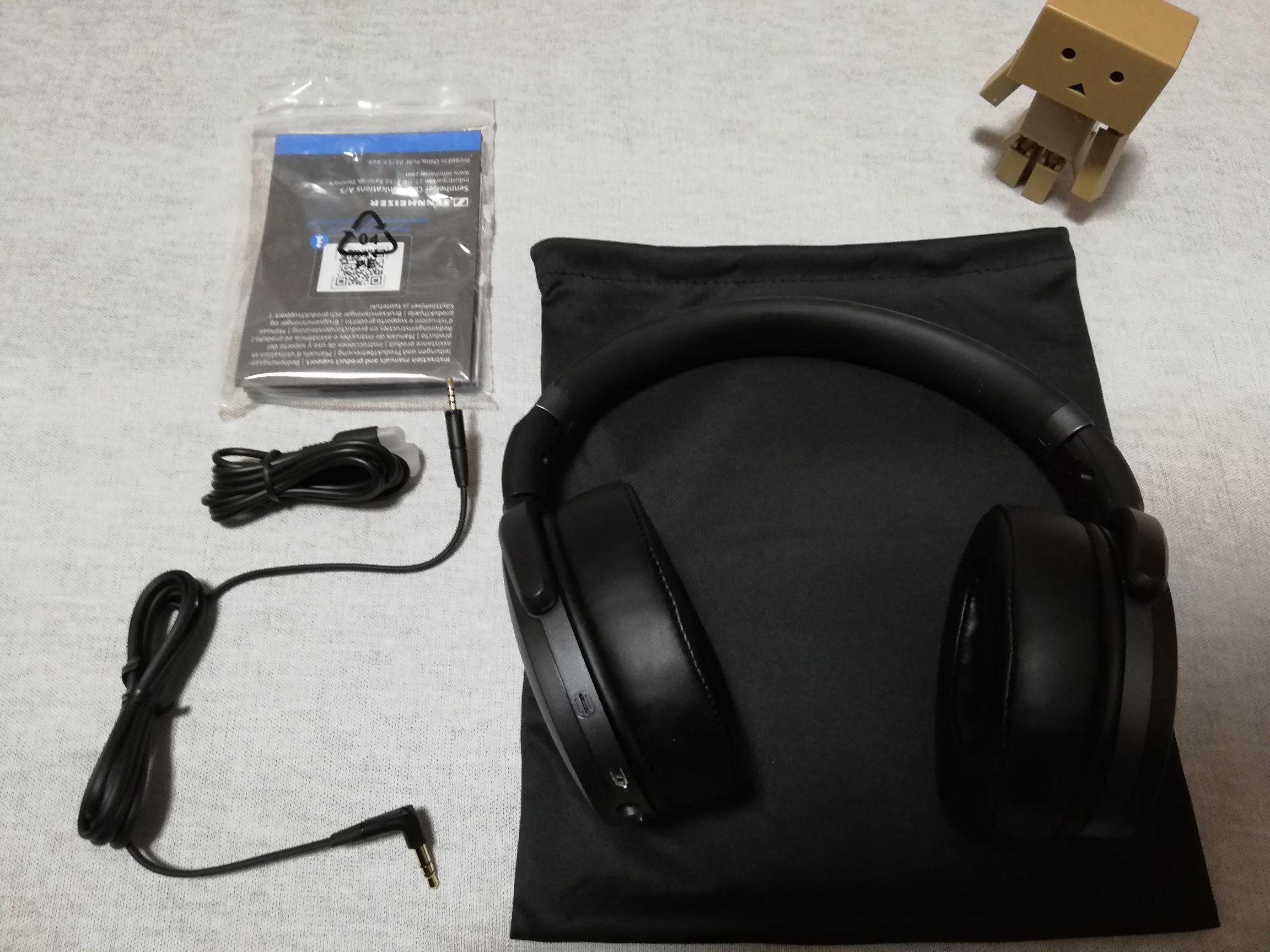 ゼンハイザー HD 4.40BT Bluetooth 付属品