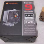 【2000円以下&静音】CPUクーラー Thermaltake Contac 9をレビュー