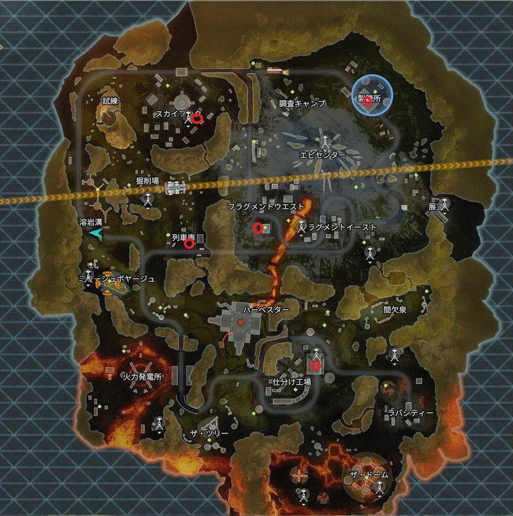 グラビティリフトの場所とチャレンジ内容 apex legends gravity lift location WORLDS EDGE